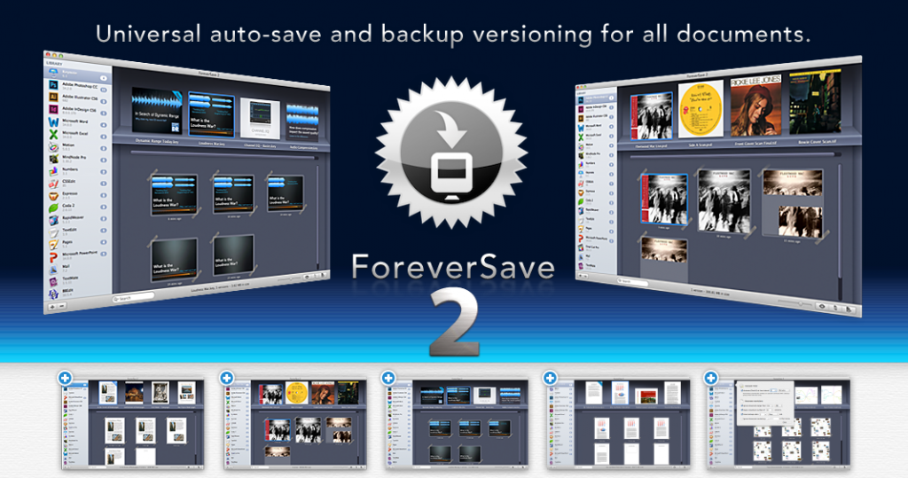 EverSave – Automatic Saving for Mac, Systemwide