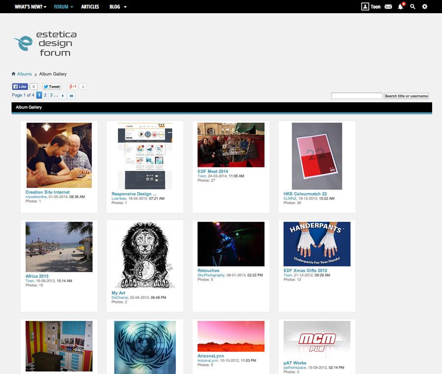 Graphic Design Forum Gallery