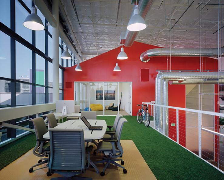 Google upper floor
