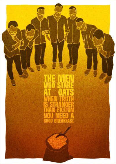 Removie Posters the men who stare at oats