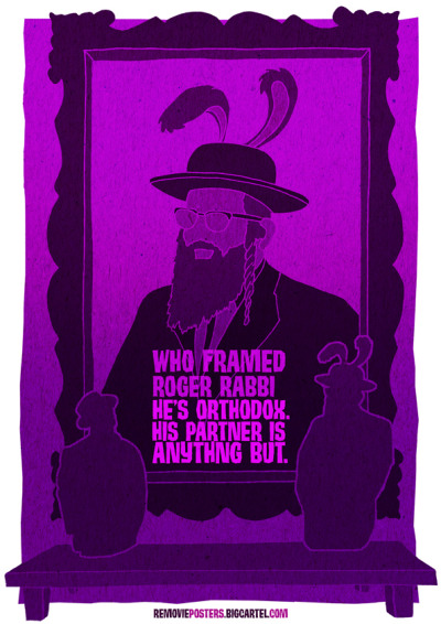 Removie Posters who framed Roger Rabbi
