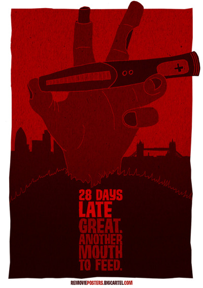 Removie Posters 28 days late