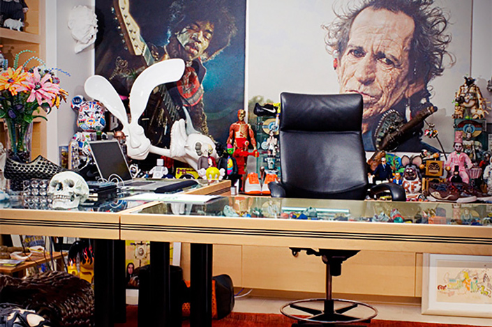 A look inside Nike CEO Mark Parker's office