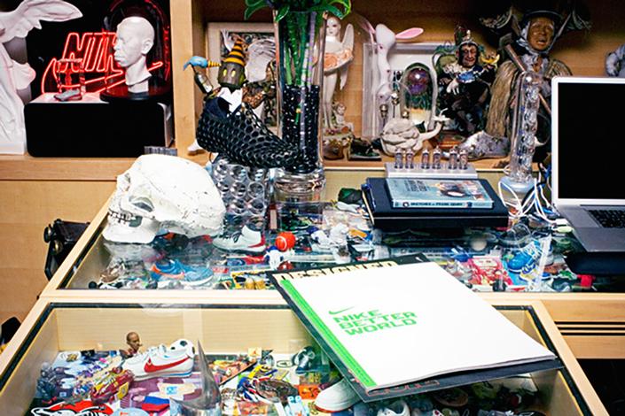 A look inside Nike CEO Mark Parker's office