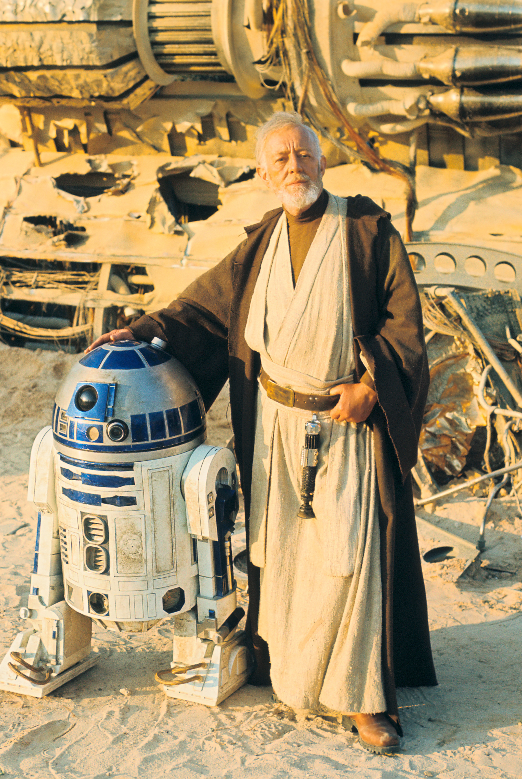 Obi Wan Kenobi and R2D2