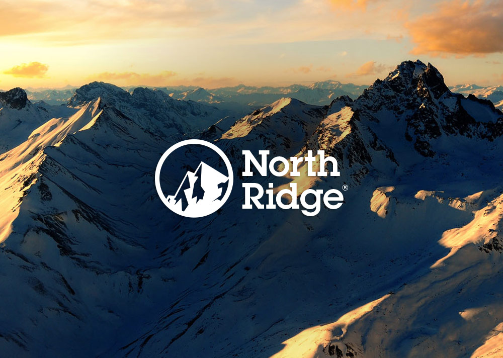 North Ridge Logo Design - Mountains