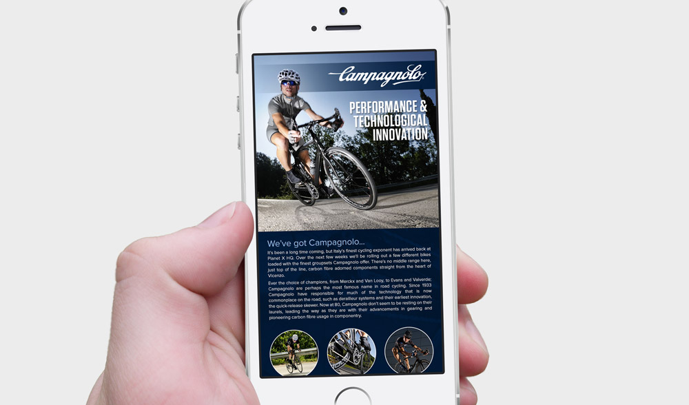Campagnolo Email - Phone Design 1
