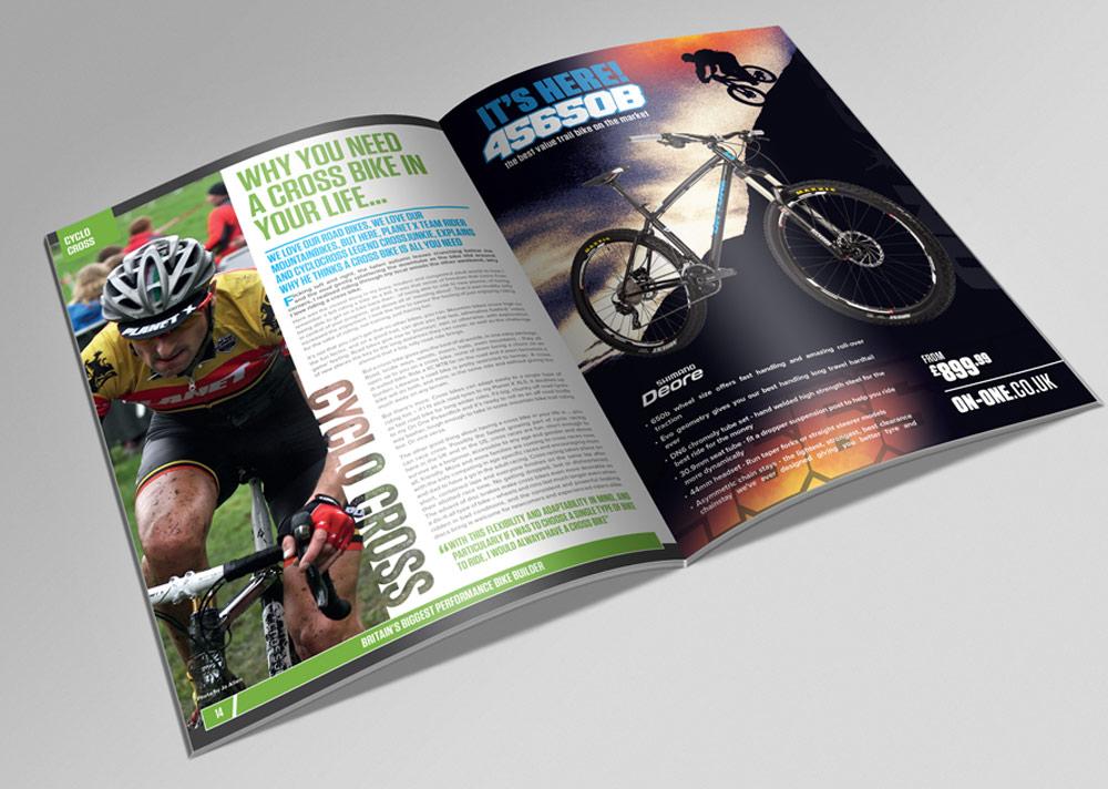 456 Bike Magazine Design