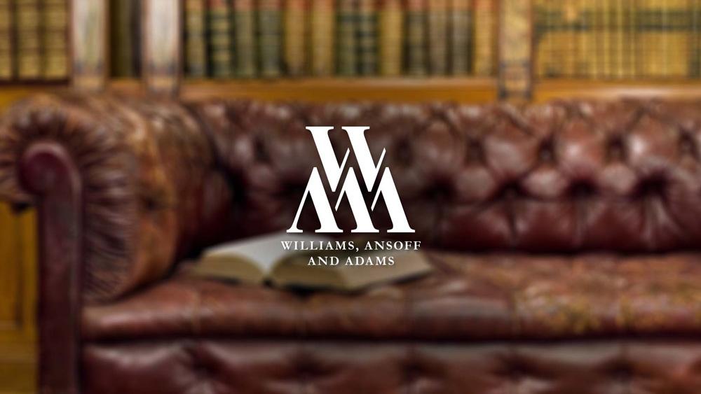 W, A and A, Bristol Logo White