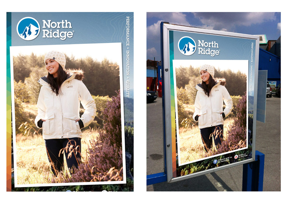 North Ridge Poster Design