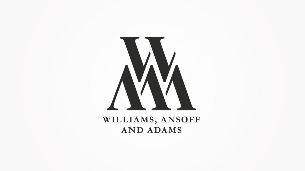W, A and A Logo Design