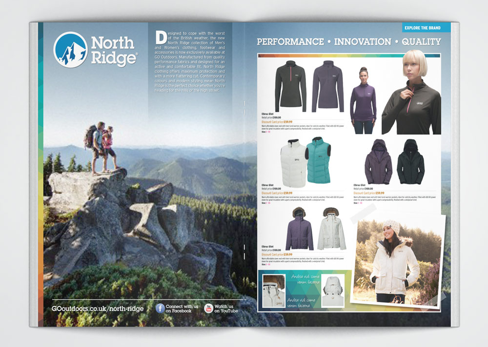 North Ridge Magazine Spread