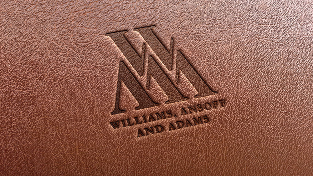 W, A and A, Bristol Logo Leather