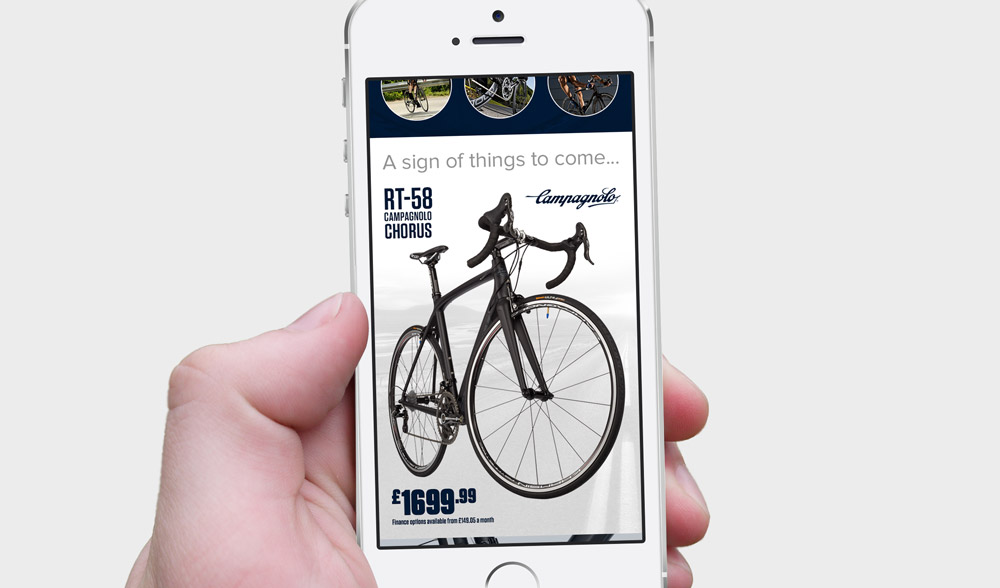 Campagnolo Email - Phone Design 2