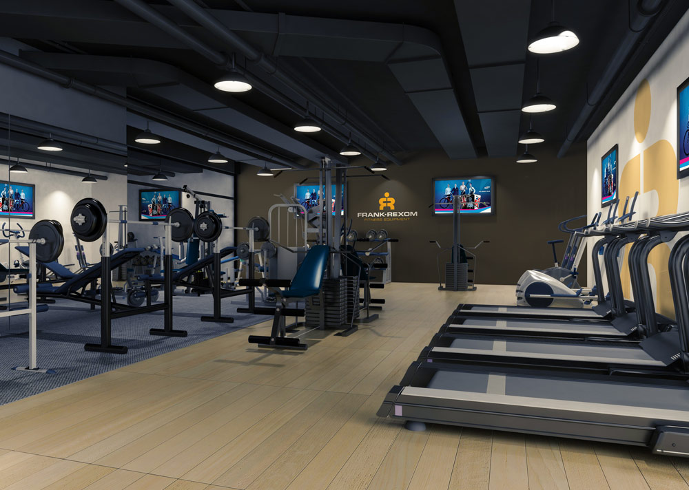 Frank Rexom Fitness, Cardiff – Gym Designs