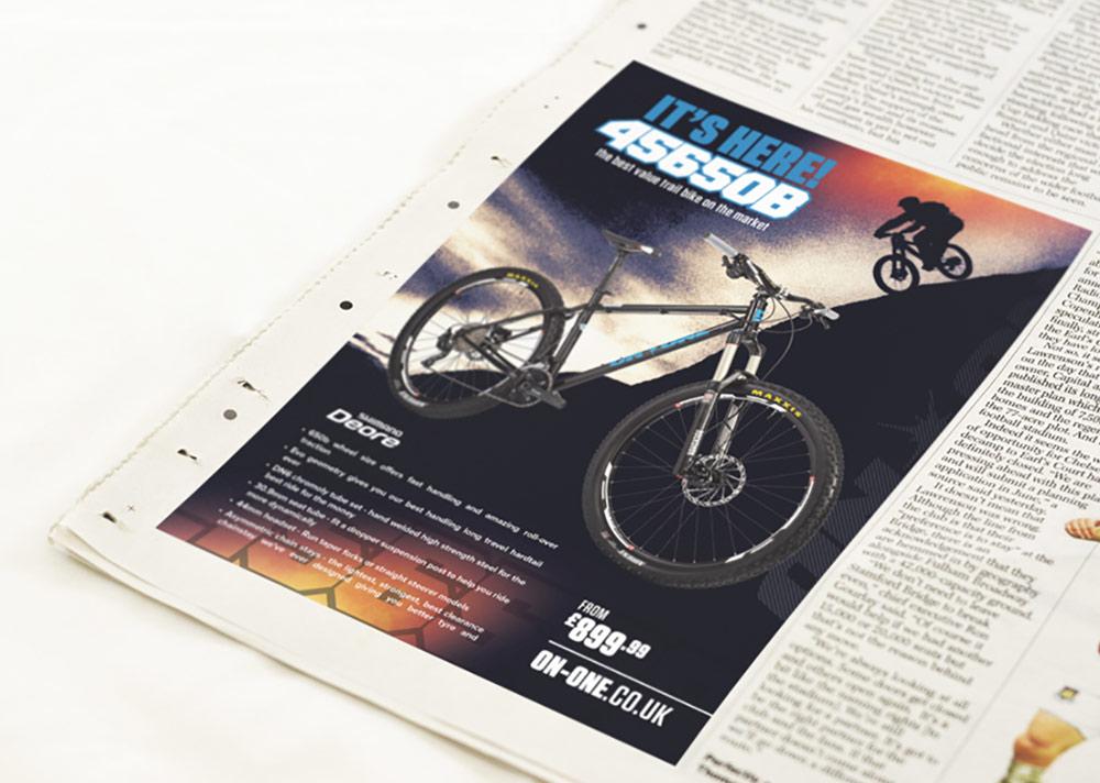 456 Bike Newspaper Design
