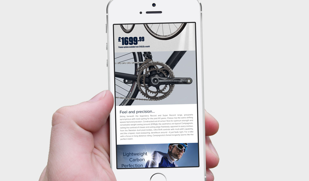 Campagnolo Email - Phone Design 3