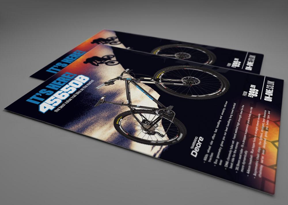 456 Bike Flyer Designs