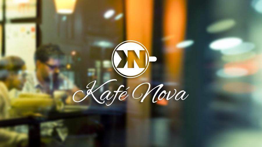 Coffee Shop Logo - Glass