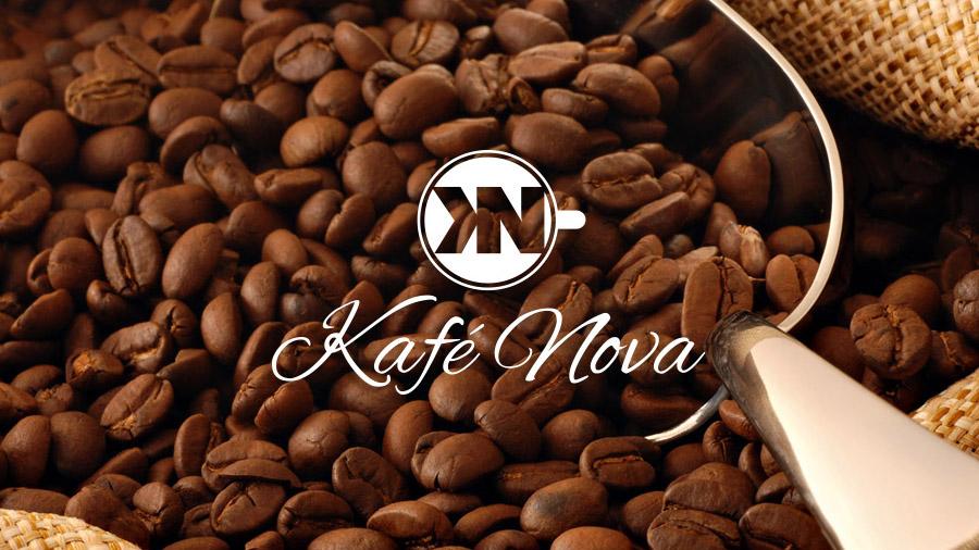 Coffee Shop Logo - Beans