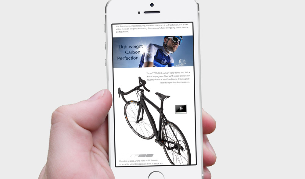 Campagnolo Email - Phone Design 4