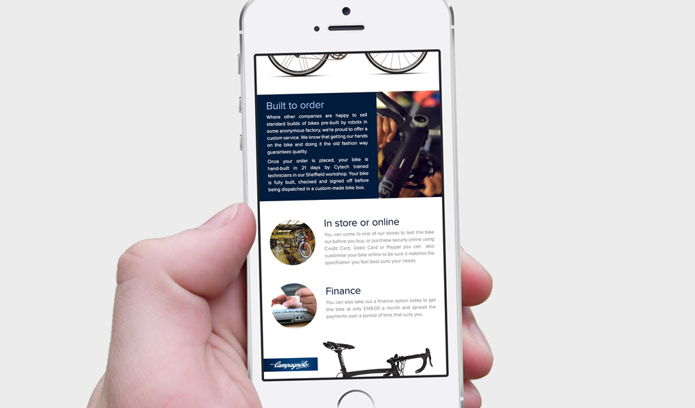 Campagnolo Email - Phone Design 6