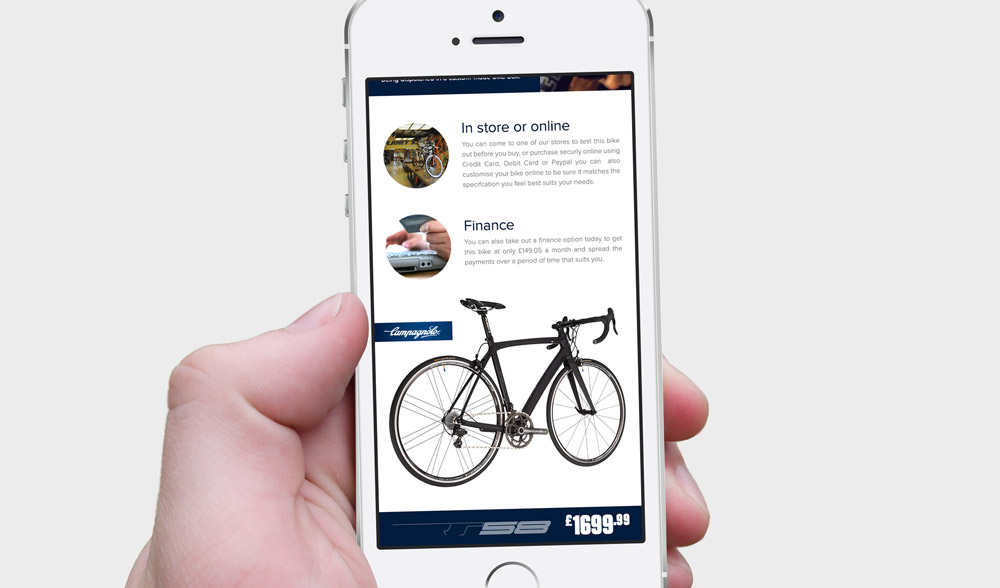 Campagnolo Email - Phone Design 7