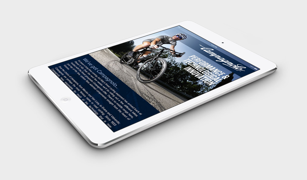 Campagnolo Email - iPad