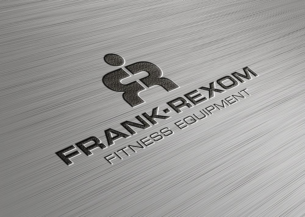 Frank Rexom Fitness, Cardiff – Logo Design Metal