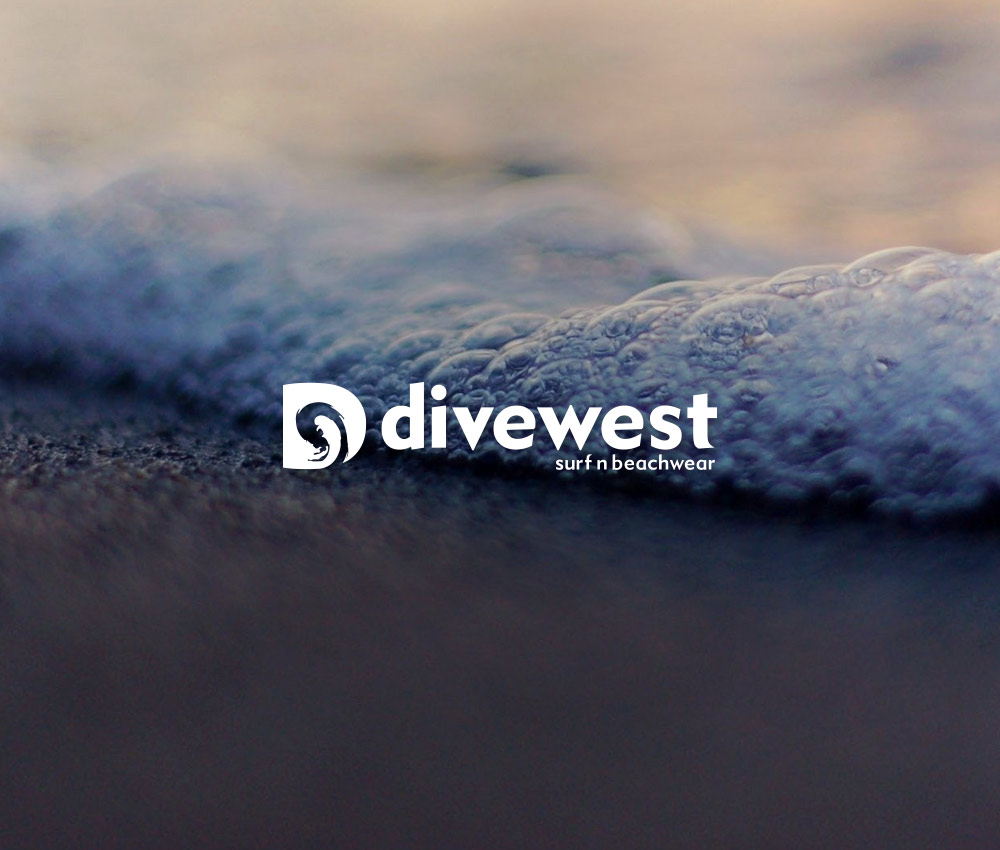 Divewest – Surf Logo Design
