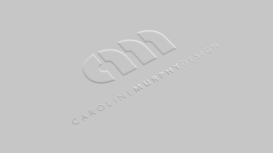 Caroline Murphy Logo - Embossed