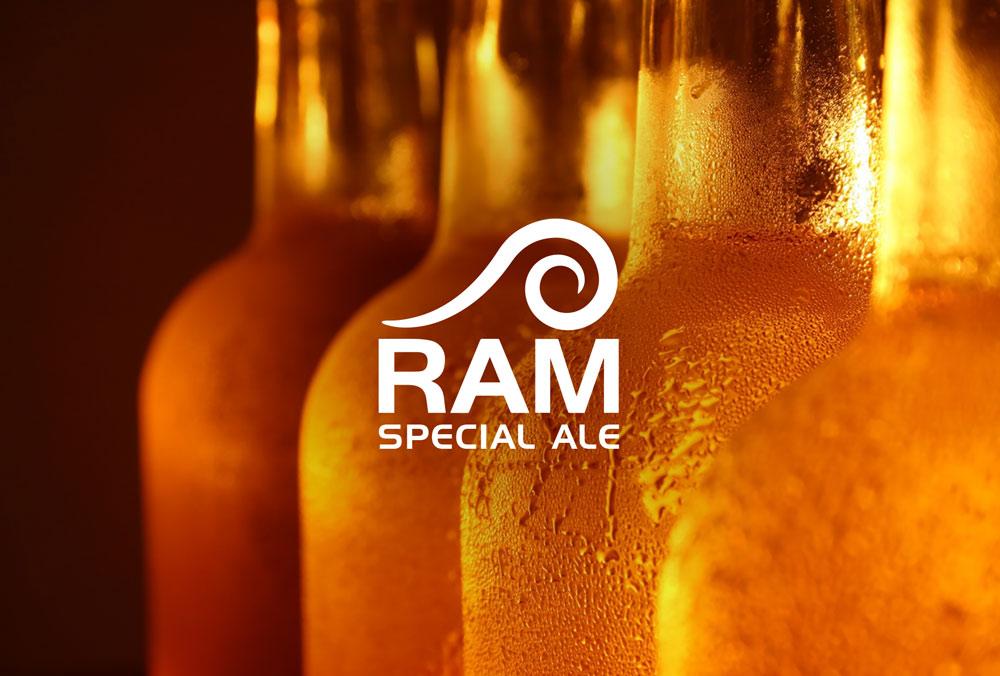 Ram Special Ale Logo Design