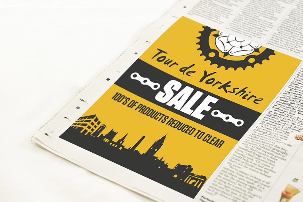 Tour de Yorkshire - Newspaper