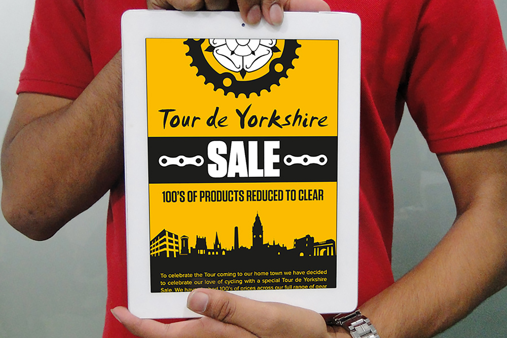 Tour de Yorkshire - iPad